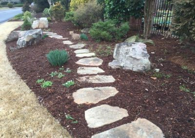 hardscape stepping stones